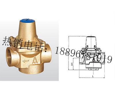 Y12X-16T 黄铜可调式减压阀