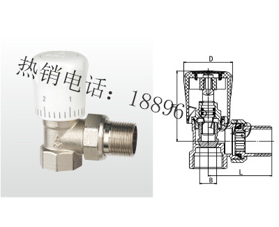 JNTT-N 黄铜暖气直角阀