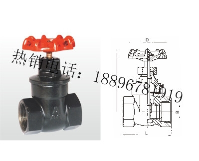 Z15T-16Q 铁制闸阀