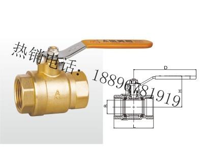 Q11F-20T 黄铜球阀(足通孔)