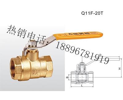 Q11F-20T 黄铜球阀