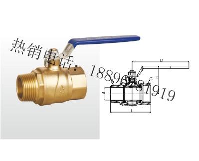Q13F-20T 黄铜球阀 (足通孔)