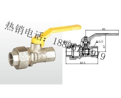 QR11F-16T 黄铜内螺纹活接头燃气球阀