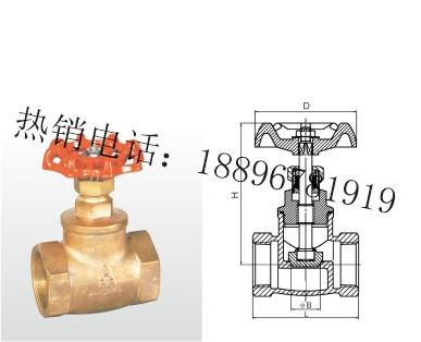 J11W-20T 青铜截止阀