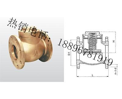 H41W-16T/H41X-16T 黄铜升降式缓闭止回阀