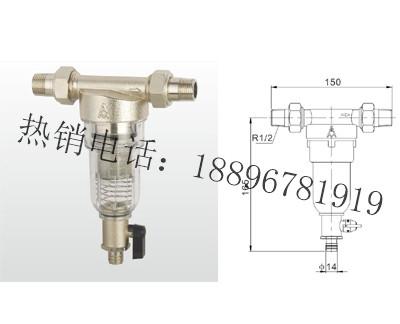 SY21-16T 黄铜反冲洗过滤器