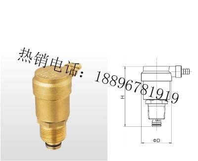 B725X-16T 黄铜自动排气阀(过滤型)