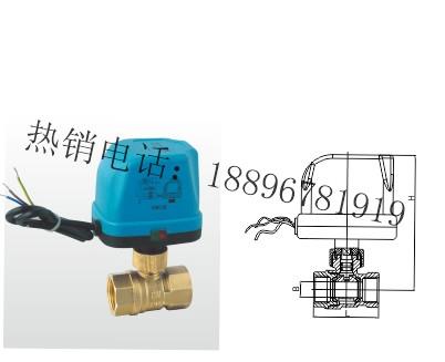 Q91F-16T黄铜电动球阀